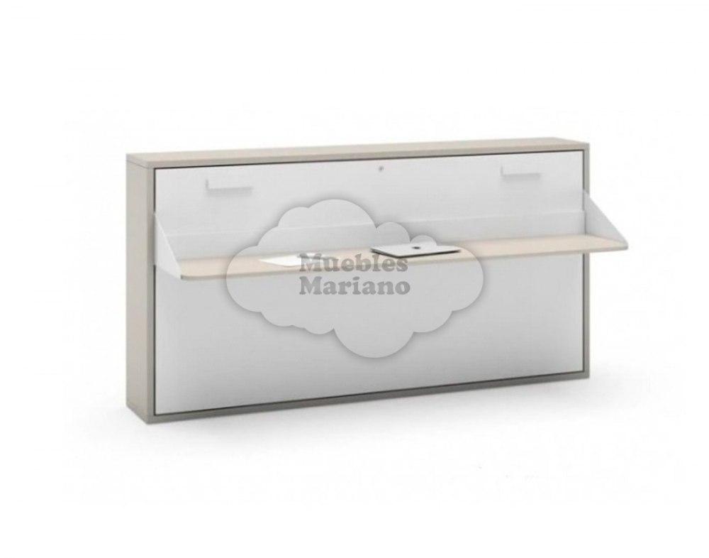 Cama abatible horizontal 90 con mesa jjp - Camas abatibles con mesa ...