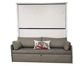 Litera abatible  metálica metálica con sofá