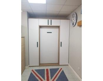 LIQUIDACION cama abatible vertical 90 x 190 + dos armarios.