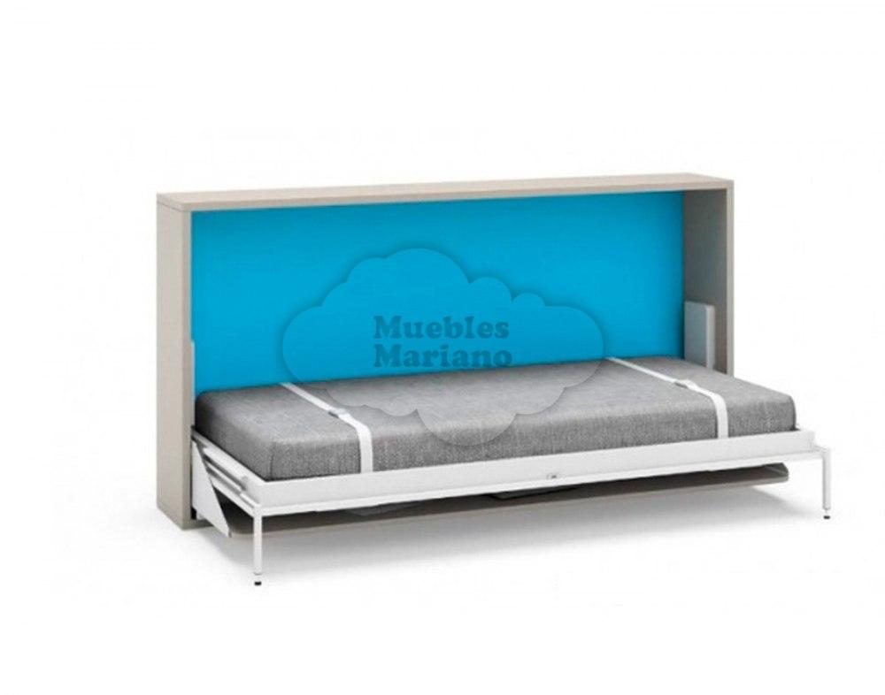 Cama abatible horizontal 90 con mesa jjp - Cama con mesa incorporada ...