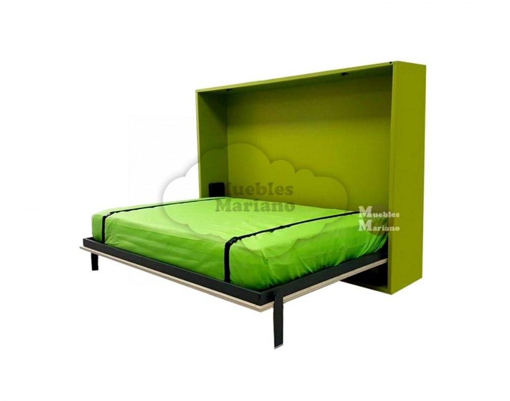 cama abatible horizontal de matrimonio econ mica jjp
