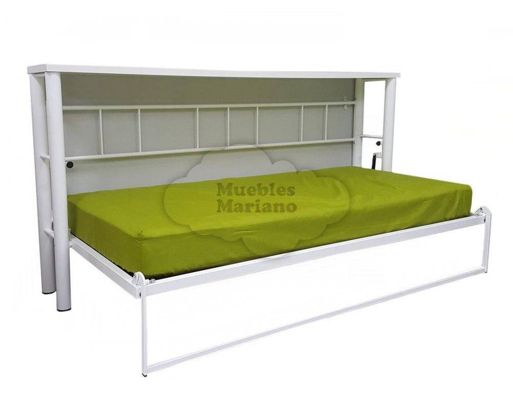 cama abatible horizontal met lica individual econ mica