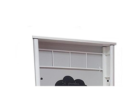 techo encimera para cama vertical