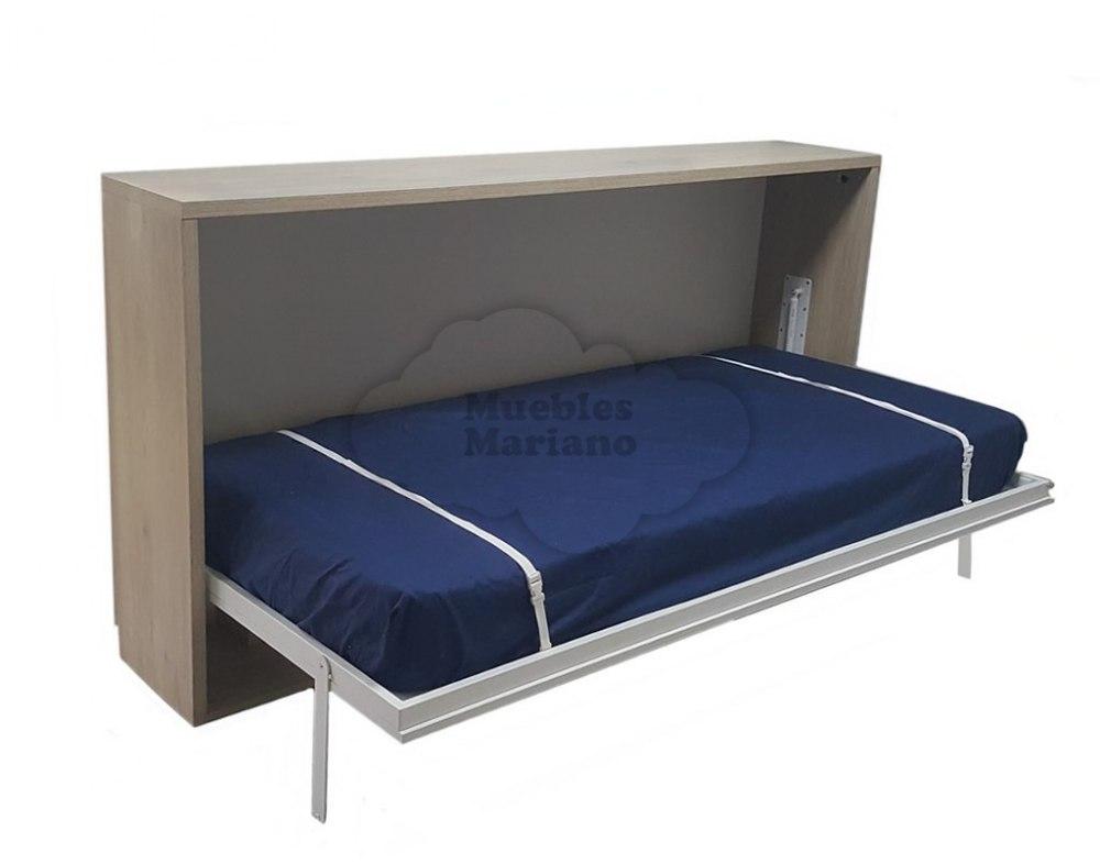 Cama abatible horizontal 90x190 barata for Cama barata