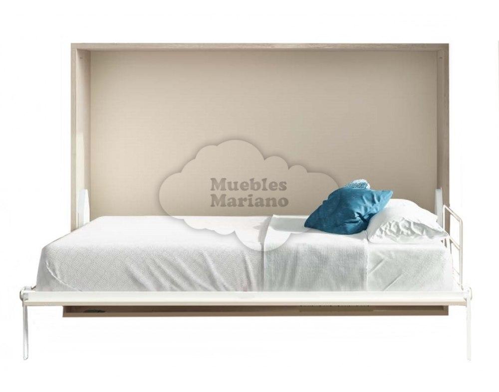 cama abatible horizontal matrimonio